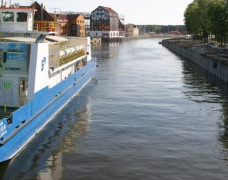 Danės upės krantinės rekonstrukcija